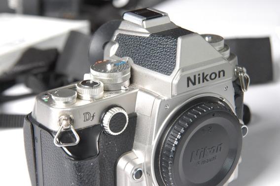 Nikon Df Camera Retro Fx Prata Silver D750 D850 D610 D810 D4