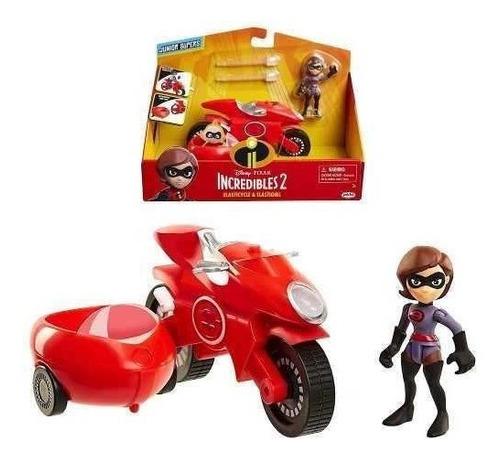 Los Increíbles 2 Disney Pixar Elastigirl + Vehiculo