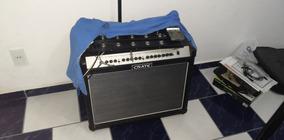 Guitarra Esp Ltd, Amplificador Crate Usa E Pedaleira Line 6