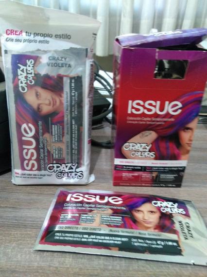 Issue Crazy Colors Violeta Sachets X 4u