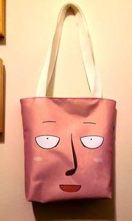 Mini Tote Bag Cartera De Anime One Punch Man Saitama