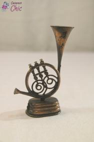 Apontador Miniatura De Trompa P/ Coleção Cchic *