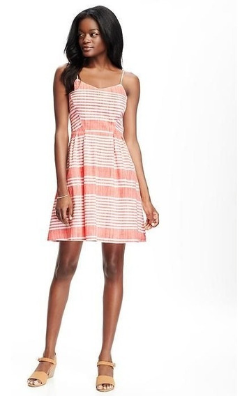 Vestido Solero Old Navy Fit And Flare Usa - 6037