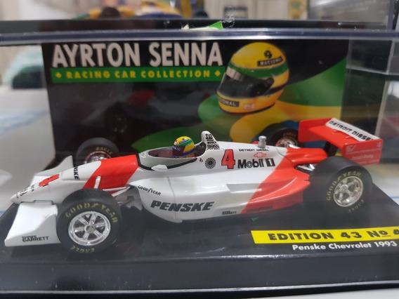 Indy - Ayrton Senna - Penske - 1993 - Carro Histórico - 1:43