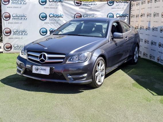 Mercedes-benz C180 Coupe Blue Efficiency 2013