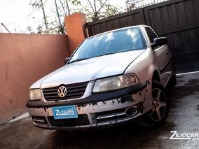 Volkswagen Gol 1.6 3 Puertas Gnc Plata 2003 Cuotas $48000