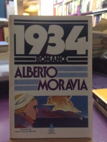 Livro 1934 - Romance Alberto Moravia