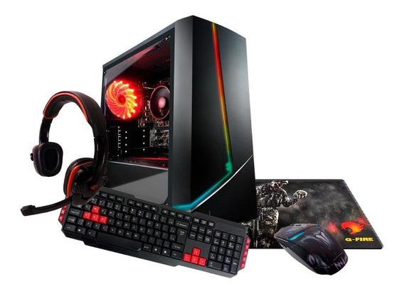 Pc Gamer Com Kit G-fire A6 7480 8gb (radeon R5 2gb) 500gb