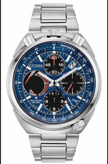 Relógio Citizen Eco Drive Av0070-57l Tsuno Bull Head Race