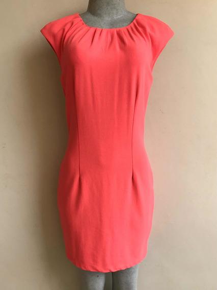 H&m Vestido Dama Talla 8 Color Salmon Sin Manga Casual Dress