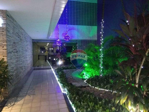 Imagem 1 de 10 de Apartamento Com Home Service Em Boa Viagem. - Ap1075