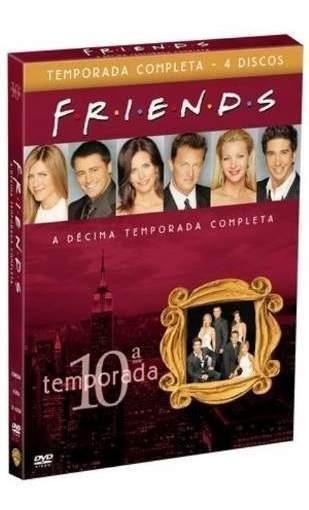 Box Friends 10º Decima Temporada Completa 4 Dvds - Lacrado