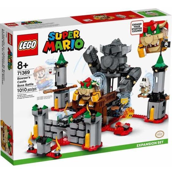 Lego Super Mario Set Expansão Batalha No Castelo De Bowser