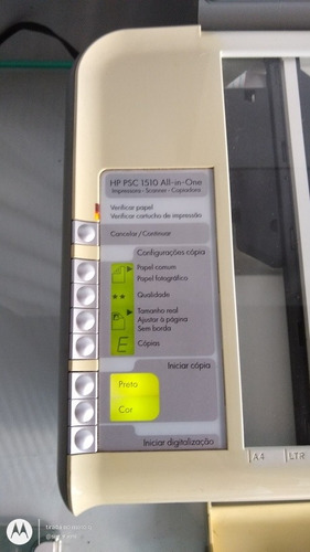 Sucata Hp Psc 1510 All-in-one