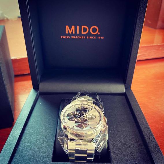 Mido Commander Chronograph Nuevo Msi - Precio Negociable