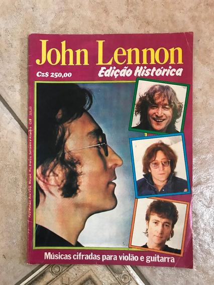 Revista John Lennon Edição Histórica Músicas Cifradas