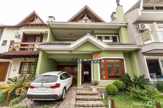 Casa Com 3 Dormitórios À Venda, 170 M² Por R$ 1.300.000 - Ecoville - Porto Alegre/rs - Ca0662