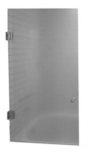 Mampara Baño Rebatible 1,80 X 80 Con Bisagras Templado 8 Mm