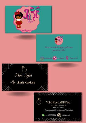 Criação De Cartões De Visita