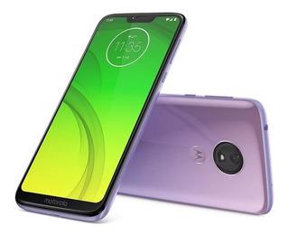 Motorola Moto G7 Power Xt1955 Violet Celular Liberado Usado
