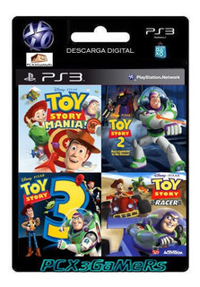 Ps3 Pack Toy Story Collection 4 En 1 [pcx3gamers]