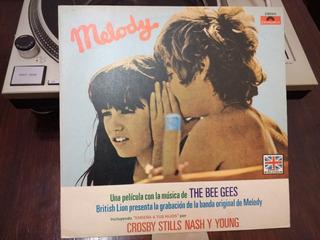 Disco De Vinilo - Melody - Bee Gees - Banda De Sonido
