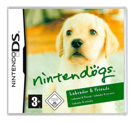 Nintendogs Labrador E Friends Ds Mídia Física Pronta Entrega