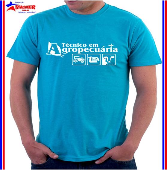 Camiseta Camisa Personalizada Curso Tecnico Agropecuaria