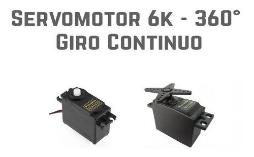 Servomotor 6k - 360° Giro Continuo