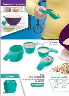 Tazas Medidoras Tupperware
