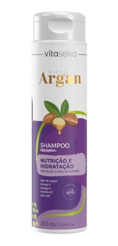Shampoo Uso Diario Lançamento Oleo De Argan 300ml Vs