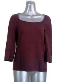Sweater Ligero Blusa Tejida Café Things Contempo Stretch M