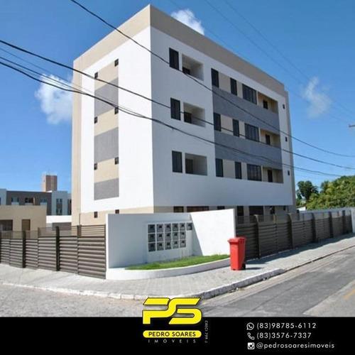 Apartamento Com 2 Dormitórios À Venda, 57 M² Por R$ 185.000 - Jardim Cidade Universitária - João Pessoa/pb - Ap3619