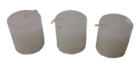 Velas 3 Unidades Aromaticas Con Citronella + Repelente Ramos
