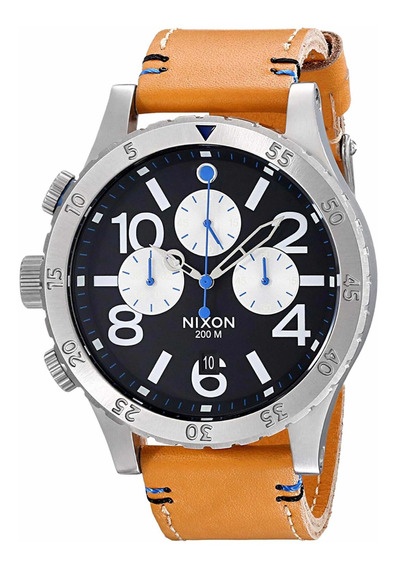 Relógio Nixon 48-20 Chrono Leather A363 1602-00