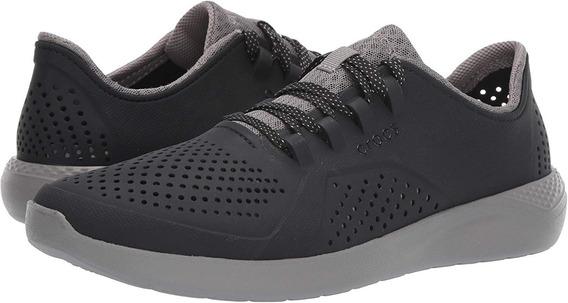 Crocs Literide Pacer Black Tenis Sneaker 23 Mex