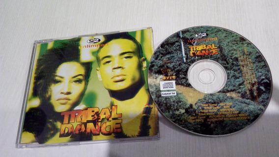 Cd Maxi 2 Unlimited - Tribal Dance - Euro Italo House Import