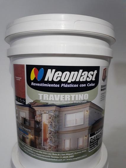 Revestimientos Plasticos Con Color Texturado Neoplast X30kg