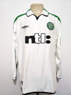 Camisa Futebol Oficial Celtic Escócia 2001 Away Umbro Tam Gg