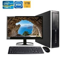 Cpu Intel Core I7 3770 Monitor 18,5 Lg