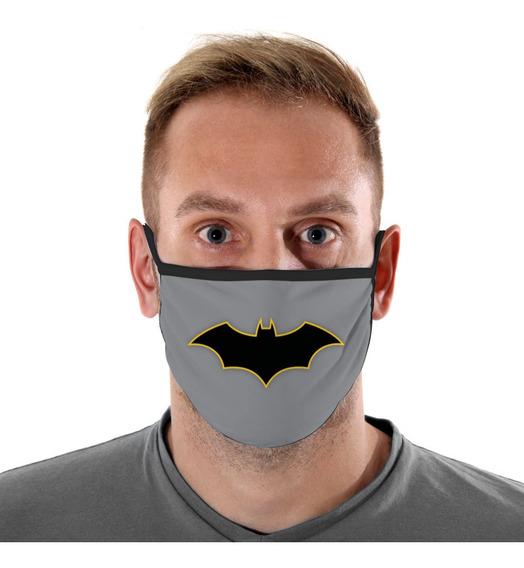 Mascara De Protecao Logo Batman Adulto