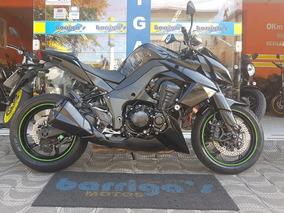 Kawasaki Z 1000 Abs Ano 2013 Preta Impecável