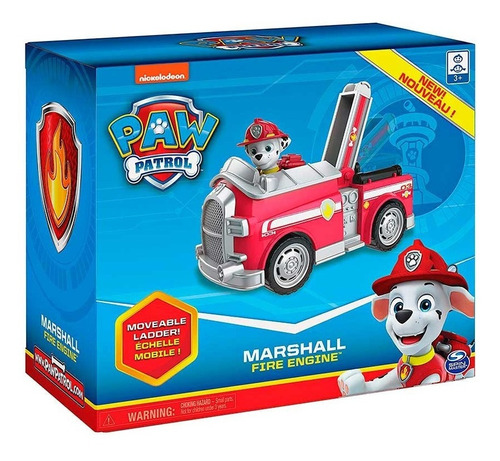 Paw Patrol Marshall Fire Engine  - Entrega Inmediata!!