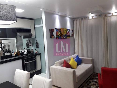 Imagem 1 de 23 de Apartamento Com 2 Dormitórios À Venda, 54 M² Por R$ 345.000 - Parque Viana - Barueri/sp - Ap1745