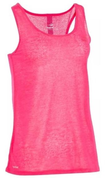 Musculosa Topper Jaquard Mujer Entrenamiento Gimnasio