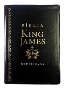 Bíblia De Estudo King James Atualizada Com Letra Gigante