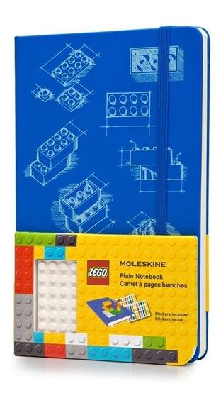 Caderno Moleskine Original Gde Ed Limitada Lego Sem Paut 211