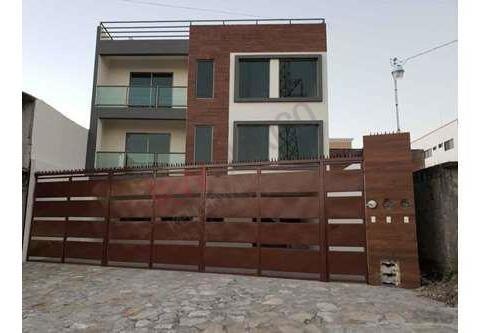 Departamento Semiamueblado Nuevo En Renta En La Col. San Pedro Mirador