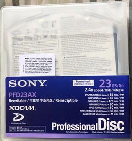 Xdcam 5 Unid. Midia 23gb Pfd-23a Pfd23 Sony Original Zero