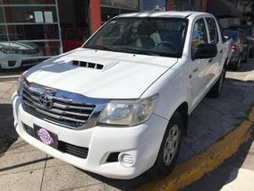 Toyota Hilux 2.5 Cd Dx Pack I 120cv 4x4 2013 Blanca Diesel